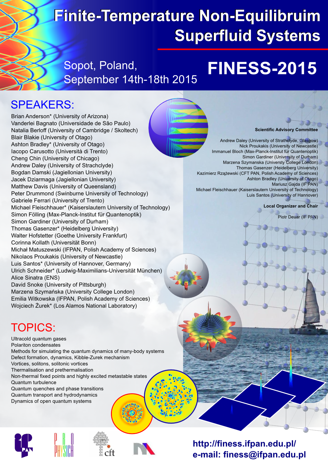 FINESS 2015 poster